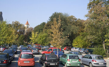 Parkiralište kod MTČ-a Čakovec